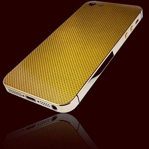  Apple iPhone 5 CarbonGold  Golden Dreams